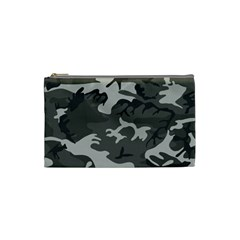 Camouflage Pattern Disguise Army Cosmetic Bag (small)