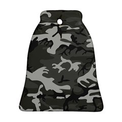Camouflage Pattern Disguise Army Bell Ornament (two Sides)