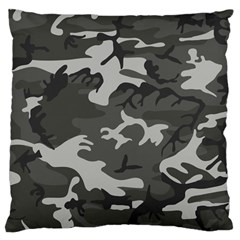 Camouflage Pattern Disguise Army Large Cushion Case (one Side)