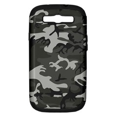 Camouflage Pattern Disguise Army Samsung Galaxy S Iii Hardshell Case (pc+silicone)