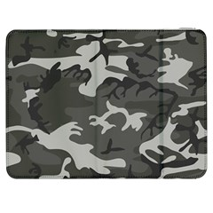 Camouflage Pattern Disguise Army Samsung Galaxy Tab 7  P1000 Flip Case