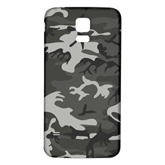 Camouflage Pattern Disguise Army Samsung Galaxy S5 Back Case (white)