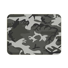 Camouflage Pattern Disguise Army Double Sided Flano Blanket (mini)