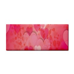 Pink Hearts Pattern Cosmetic Storage Cases