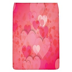 Pink Hearts Pattern Flap Covers (l)