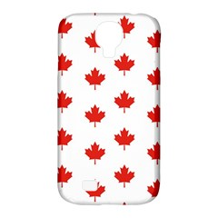 Maple Leaf Canada Emblem Country Samsung Galaxy S4 Classic Hardshell Case (pc+silicone)