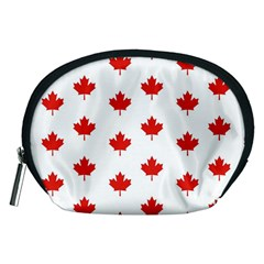 Maple Leaf Canada Emblem Country Accessory Pouches (medium)