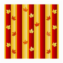 Autumn Fall Leaves Vertical Medium Glasses Cloth (2 Side)