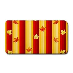 Autumn Fall Leaves Vertical Medium Bar Mats
