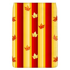 Autumn Fall Leaves Vertical Flap Covers (l)