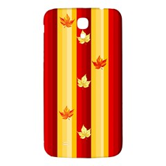 Autumn Fall Leaves Vertical Samsung Galaxy Mega I9200 Hardshell Back Case