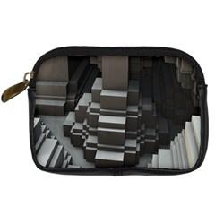 Fractal Render Cube Cubic Shape Digital Camera Cases