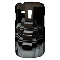 Fractal Render Cube Cubic Shape Galaxy S3 Mini