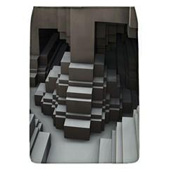 Fractal Render Cube Cubic Shape Flap Covers (l)
