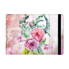 Flowers And Leaves In Soft Purple Colors Ipad Mini 2 Flip Cases