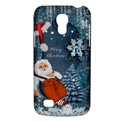 Funny Santa Claus With Snowman Galaxy S4 Mini