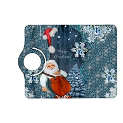 Funny Santa Claus With Snowman Kindle Fire Hd (2013) Flip 360 Case