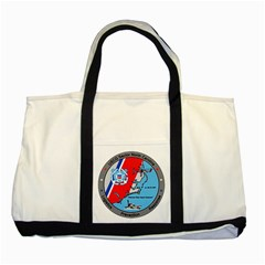 Coast Guard Sector North Carolina  Two Tone Tote Bag