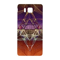 Cube Of Metatrone Diamond Samsung Galaxy Alpha Hardshell Back Case