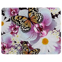 Butterflies With White And Purple Flowers  Jigsaw Puzzle Photo Stand (rectangular)