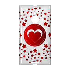 Monogram Heart Pattern Love Red Nokia Lumia 1520
