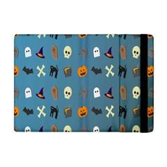 Halloween Cats Pumpkin Pattern Bat Apple Ipad Mini Flip Case