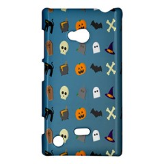 Halloween Cats Pumpkin Pattern Bat Nokia Lumia 720