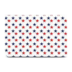 Patriotic Red White Blue Stars Usa Plate Mats