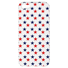 Patriotic Red White Blue Stars Usa Apple Iphone 5 Hardshell Case