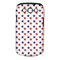 Patriotic Red White Blue Stars Usa Samsung Galaxy S Iii Classic Hardshell Case (pc+silicone)