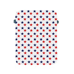 Patriotic Red White Blue Stars Usa Apple Ipad 2/3/4 Protective Soft Cases