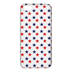 Patriotic Red White Blue Stars Usa Apple Iphone 5c Hardshell Case