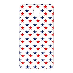 Patriotic Red White Blue Stars Usa Samsung Galaxy Note 3 N9005 Hardshell Back Case