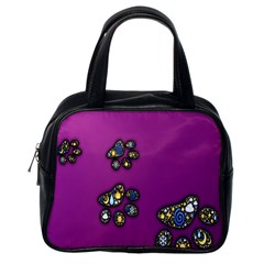 Footprints Paw Animal Track Foot Classic Handbags (one Side)