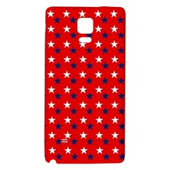 Patriotic Red White Blue Usa Galaxy Note 4 Back Case