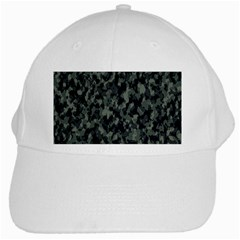 Camouflage Tarn Military Texture White Cap