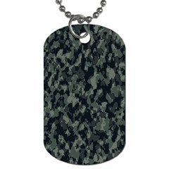 Camouflage Tarn Military Texture Dog Tag (one Side)