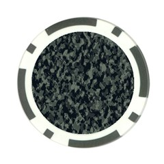 Camouflage Tarn Military Texture Poker Chip Card Guard (10 Pack)