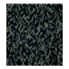 Camouflage Tarn Military Texture Shower Curtain 66  X 72  (large)