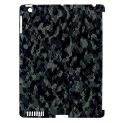 Camouflage Tarn Military Texture Apple Ipad 3/4 Hardshell Case (compatible With Smart Cover)