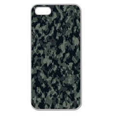 Camouflage Tarn Military Texture Apple Seamless Iphone 5 Case (clear)