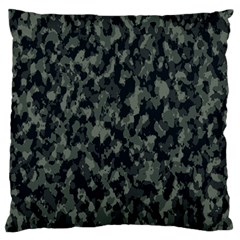 Camouflage Tarn Military Texture Large Flano Cushion Case (one Side)