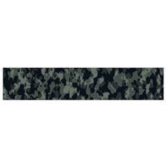 Camouflage Tarn Military Texture Small Flano Scarf