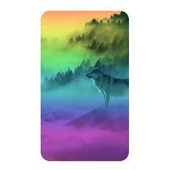 Yellowstone Wolfs Sunset Memory Card Reader