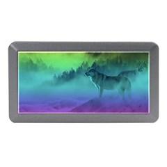 Yellowstone Wolfs Sunset Memory Card Reader (mini)