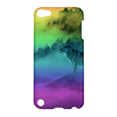 Yellowstone Wolfs Sunset Apple Ipod Touch 5 Hardshell Case