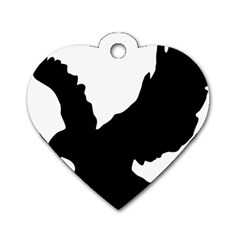 A033c2c9 48dc 4a96 9813 8c7e2baa8967 Dog Tag Heart (two Sides)