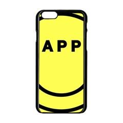 9e669010 8325 4bb4 B08e Faf7ca5b01e1 Apple Iphone 6/6s Black Enamel Case