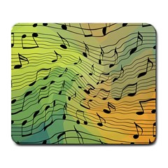 Music Notes Large Mousepads