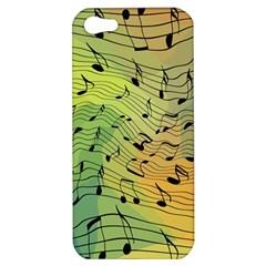 Music Notes Apple Iphone 5 Hardshell Case